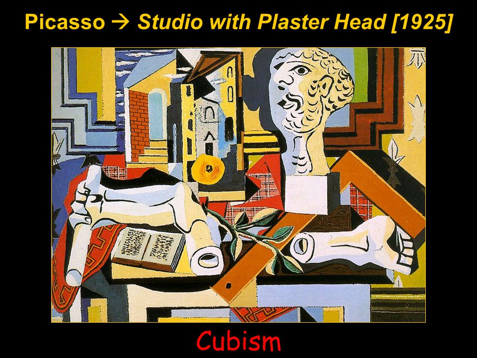 Picasso  Studio with Plaster Head [1925]